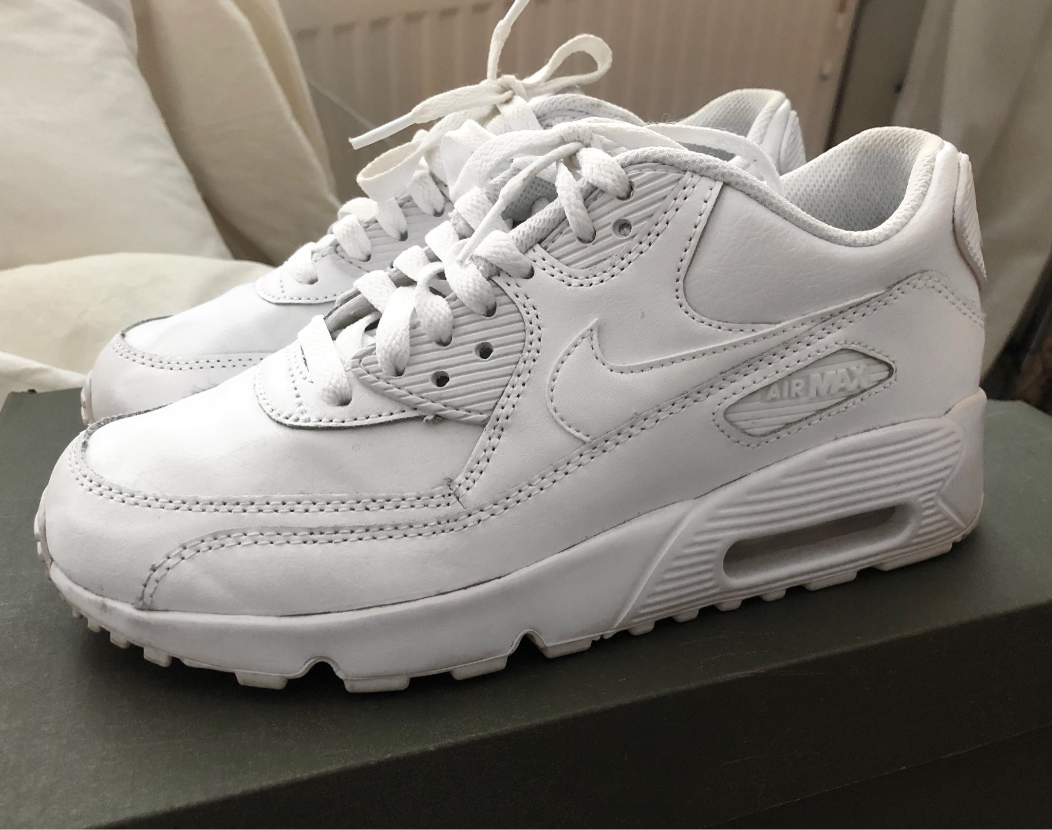 new styles 4d529 ef7ef ... huge selection of c5c95 65bf2 Nike Air Max 90 white vita strl 38