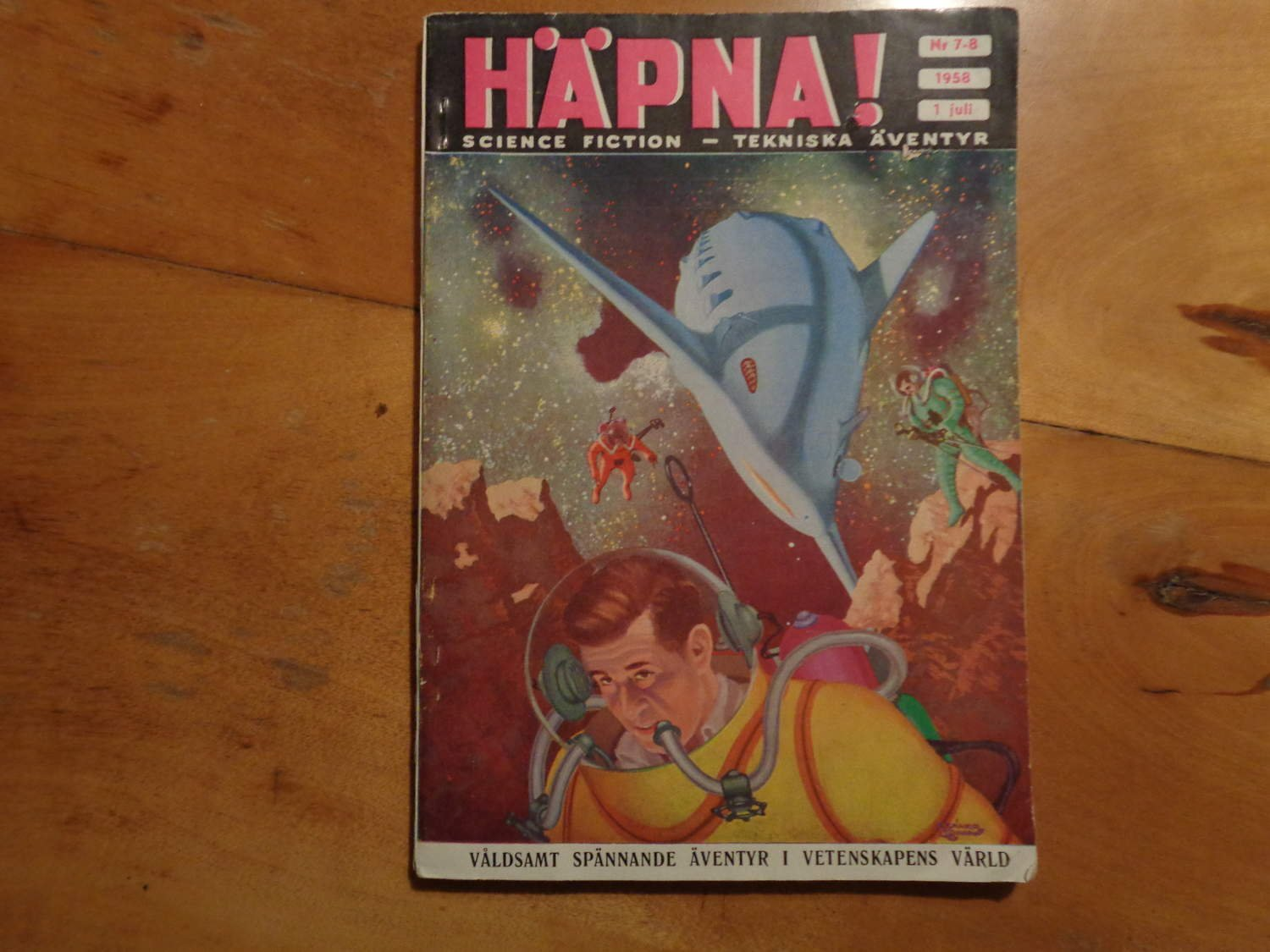 Häpna ! Science Fiction- Tekniska äventyr