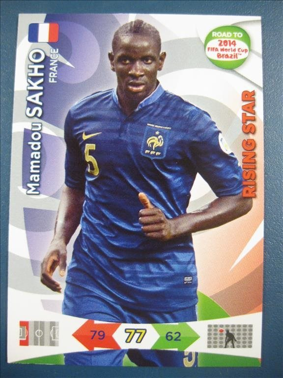RISING STAR -   MAMADOU SAKHO - FRANKRIKE - ROAD TO 2014 FIFA WORLD CUP BRAZIL