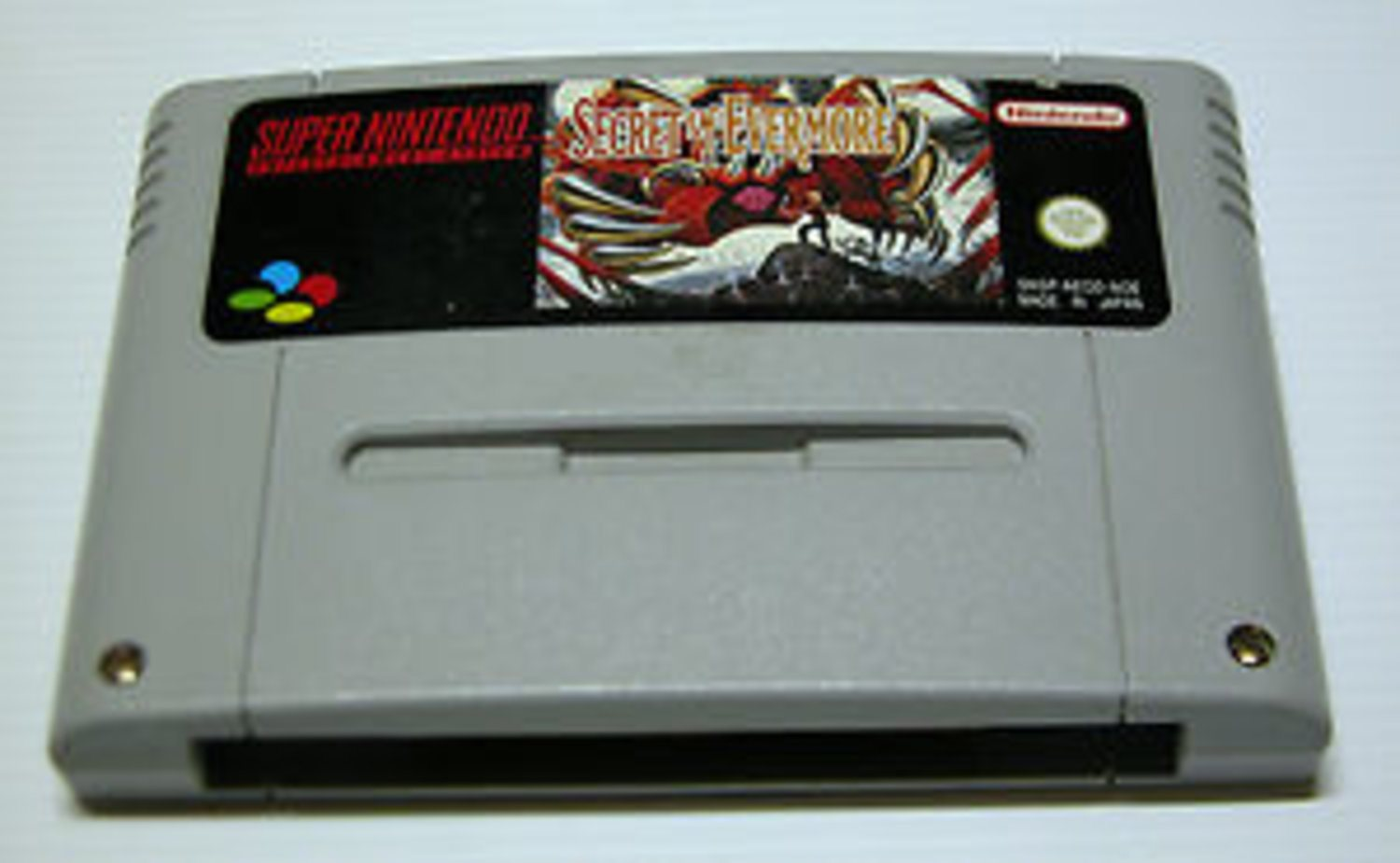 Secret of Evermore - Tysk - Super Nintendo