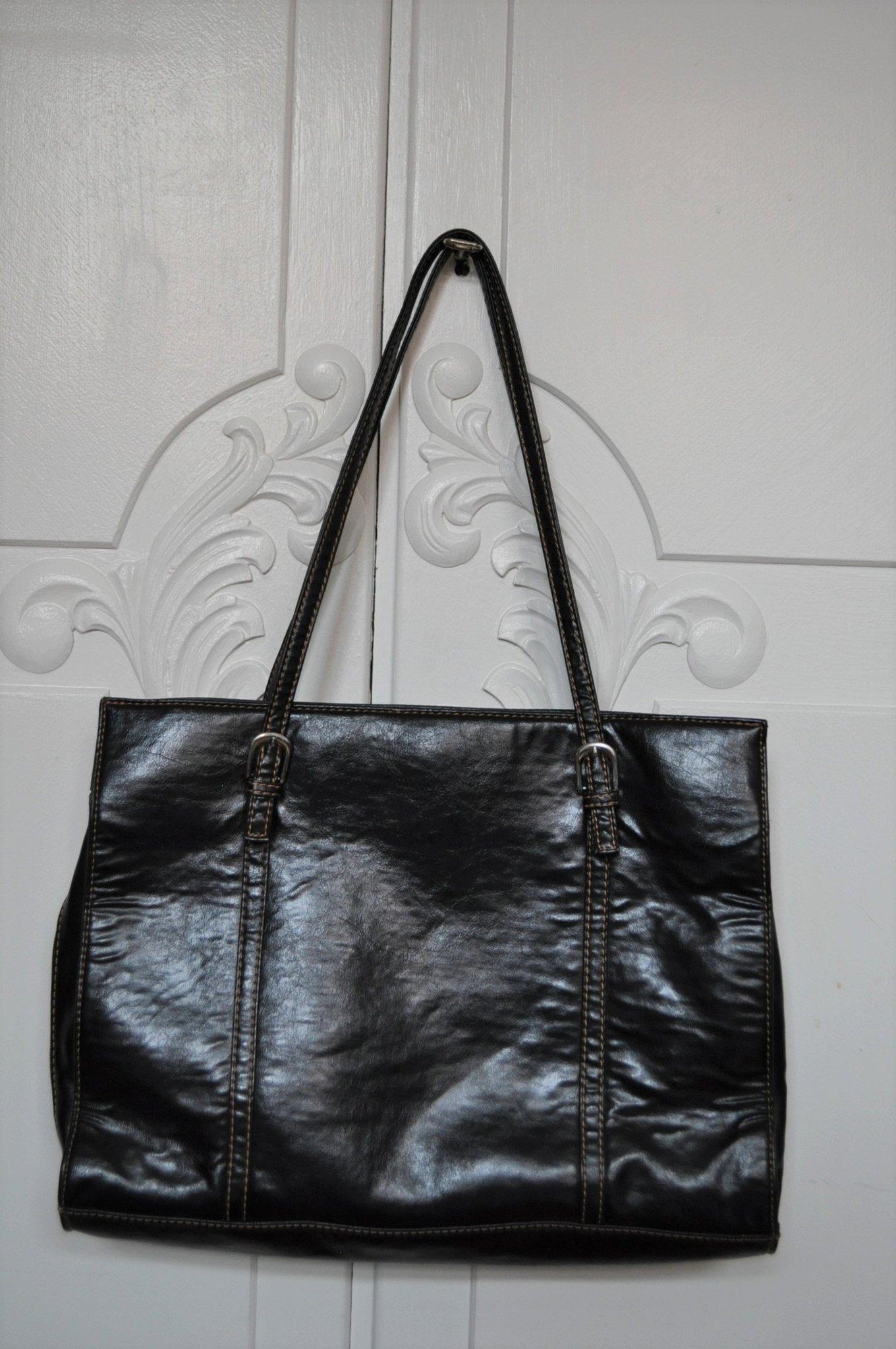 Complement väska svart stor handväska
