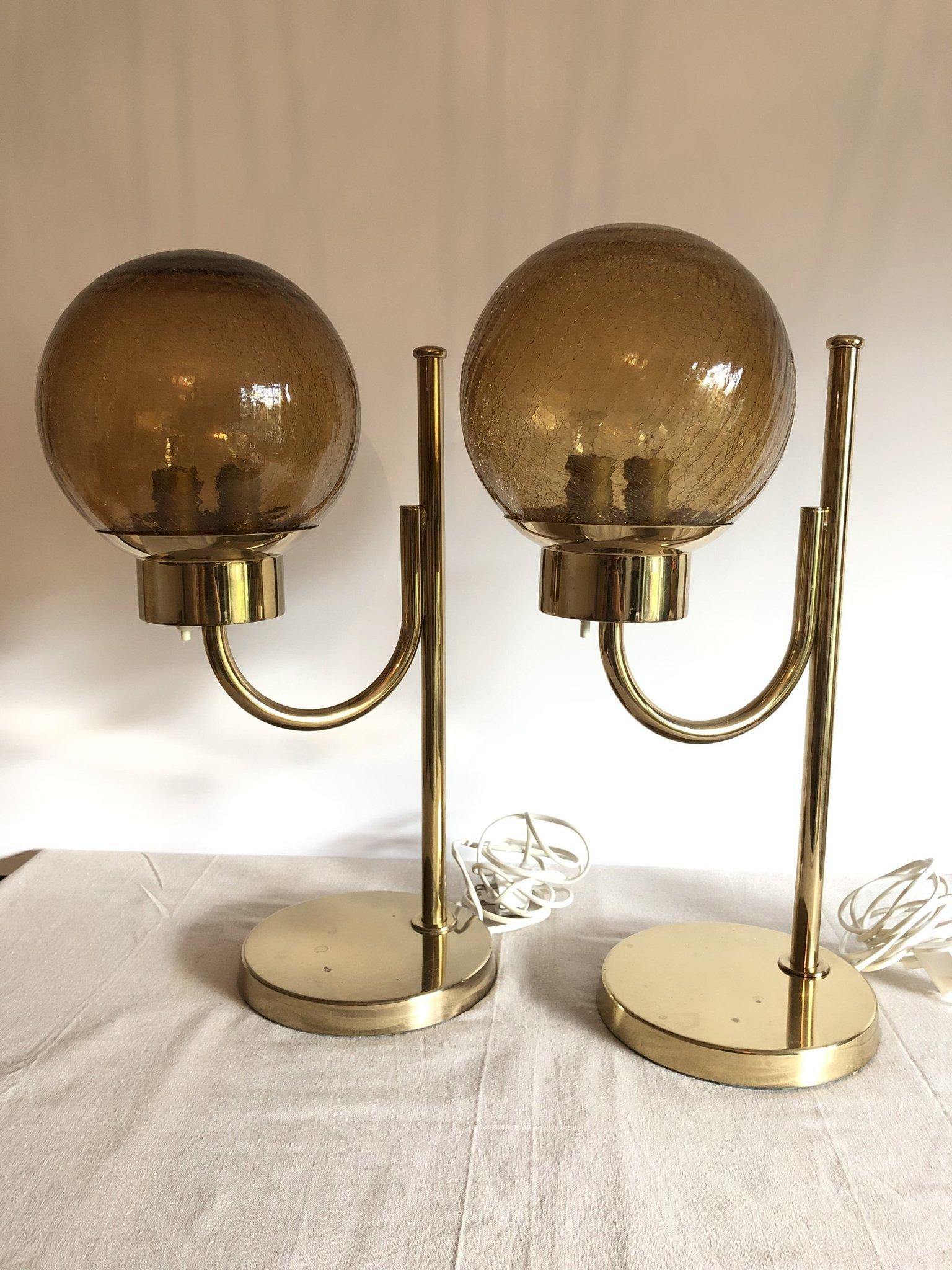 Nykomna Bergboms bordslampa bordslampor retro mässing g.. (361039216) ᐈ HI-22