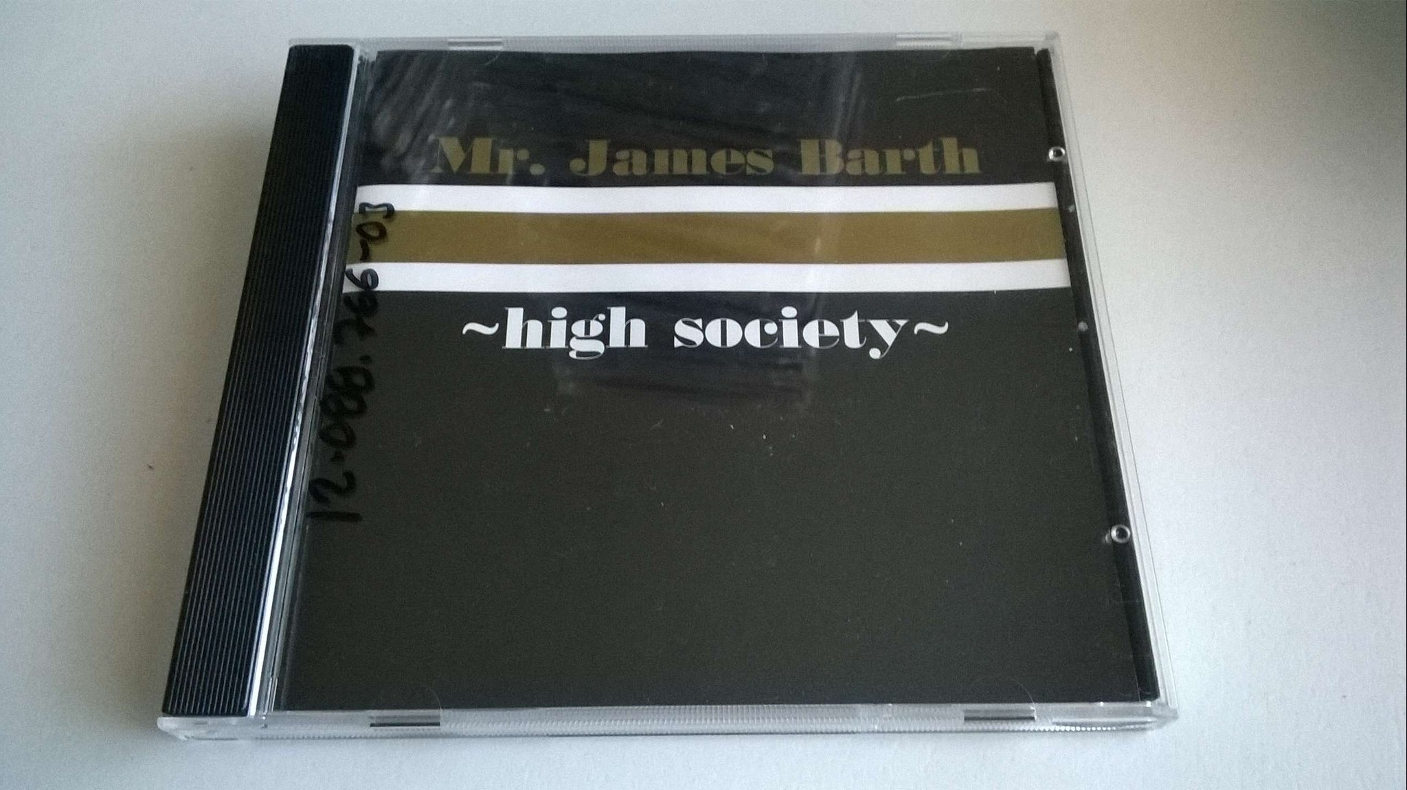 Mr. James Barth ?– High Society, CD, maxi single