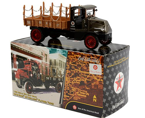 Texaco 1918 Mack AC Bulldog Flatbed