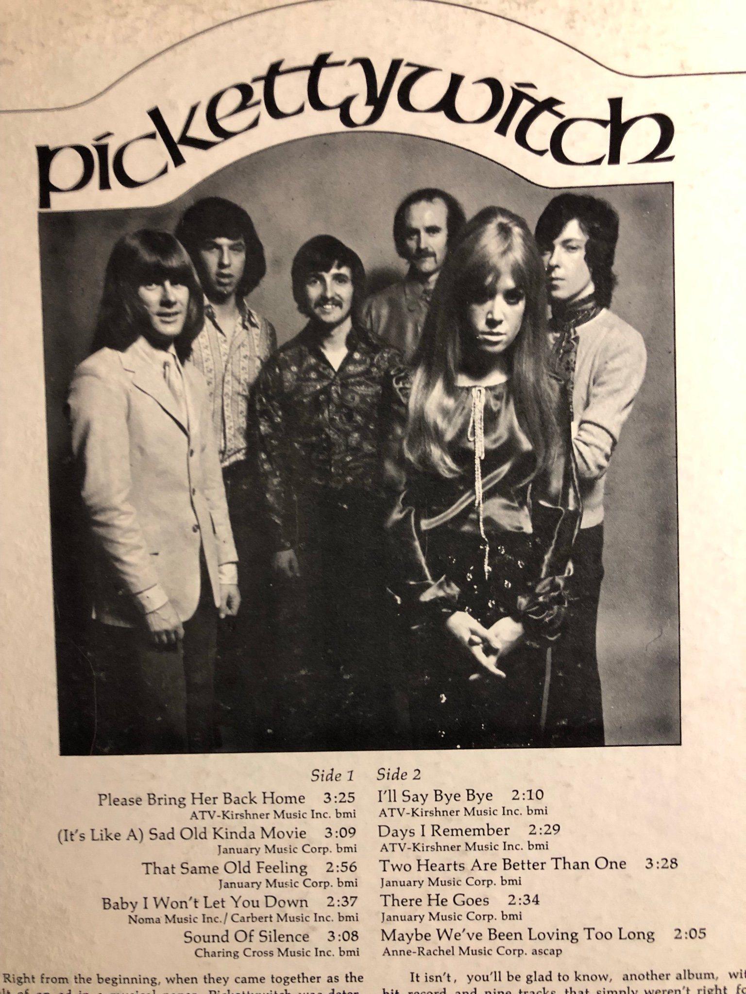PICKETTYWITCH - Same 1970  US Press! THE RATTLE   (342888747) ᐈ Köp