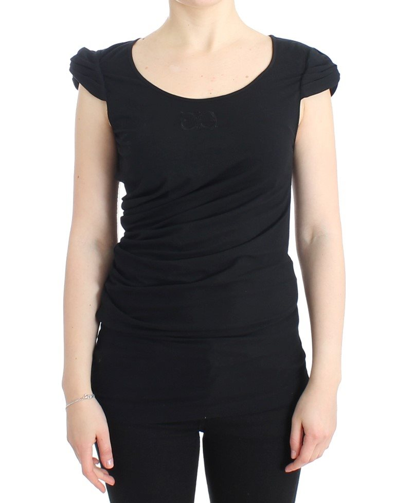 Cavalli - Black cotton top