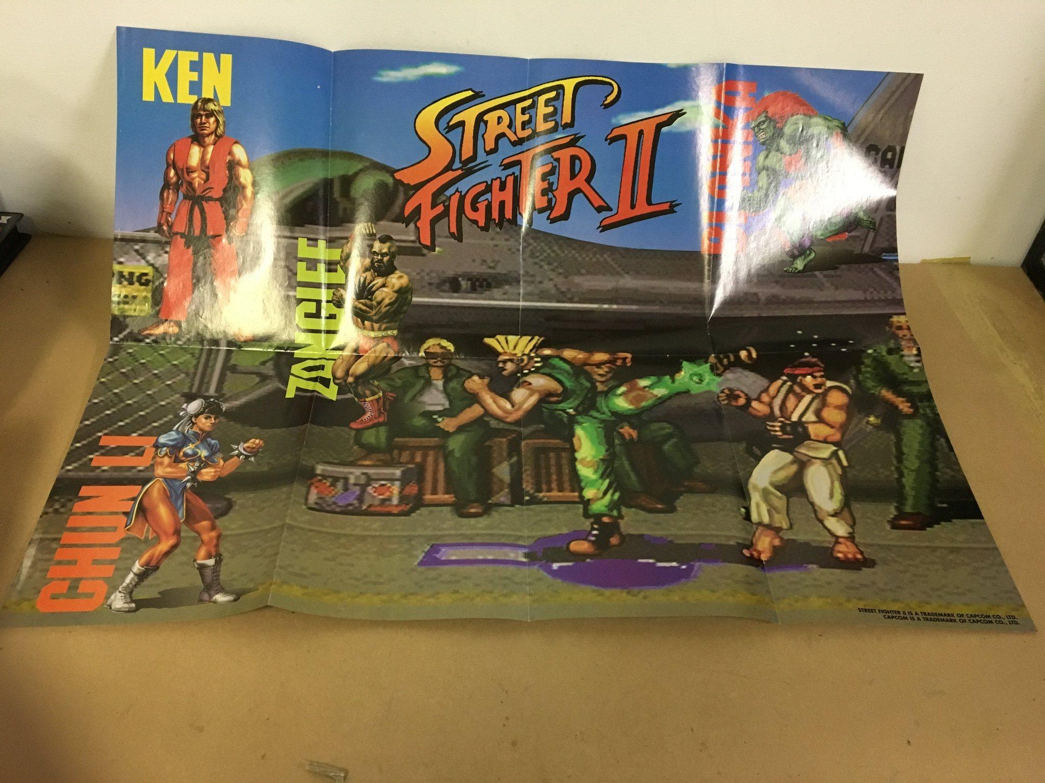 Poster - Street Fighter 2 (345502766) ᐈ Köp på Tradera