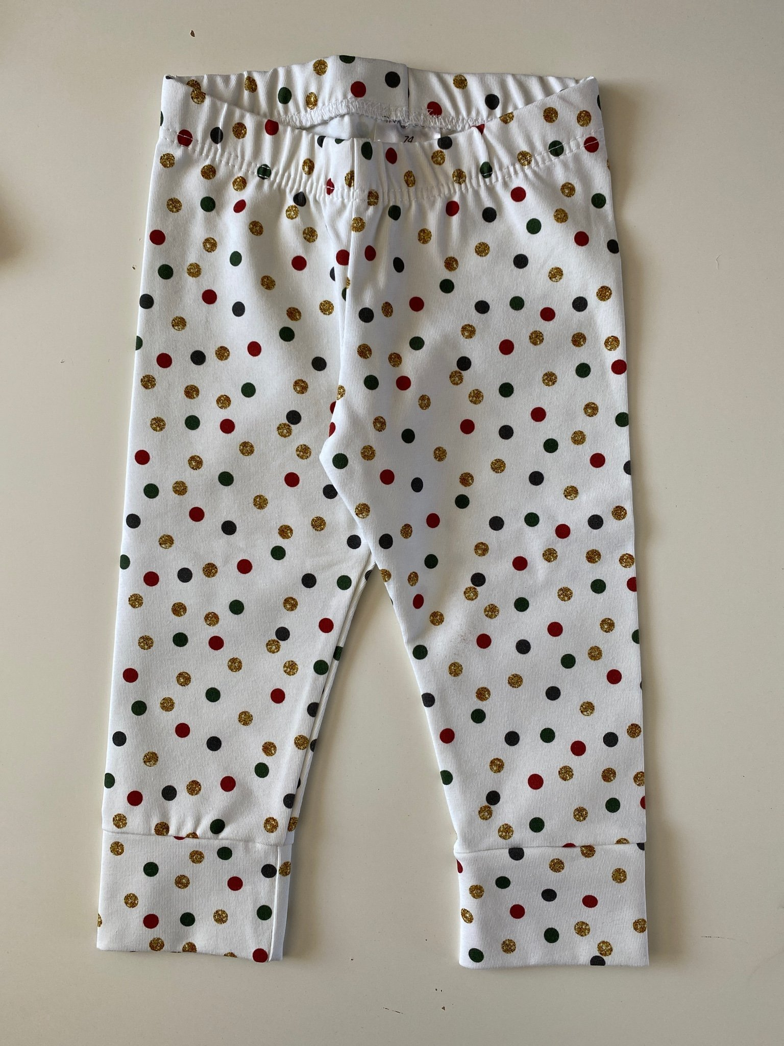 Leggings strl 74 prickar INKAKIDS