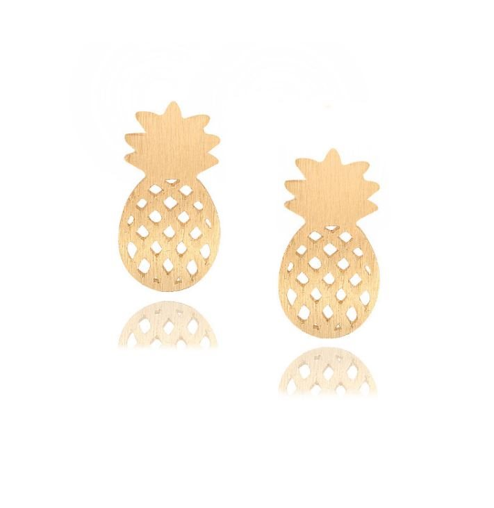 Paret Örhängen guld Ananas (324055944) ᐈ Guldnyckeln på Tradera 32728e37c794d