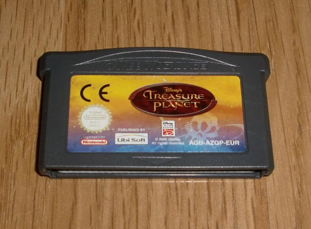 GBA: Disneys Treasure Planet ★