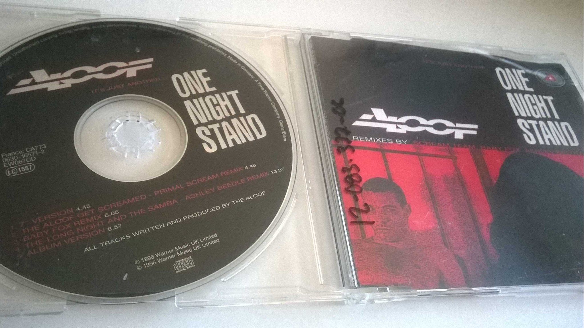 Aloof - One Night Stand, CD, Single
