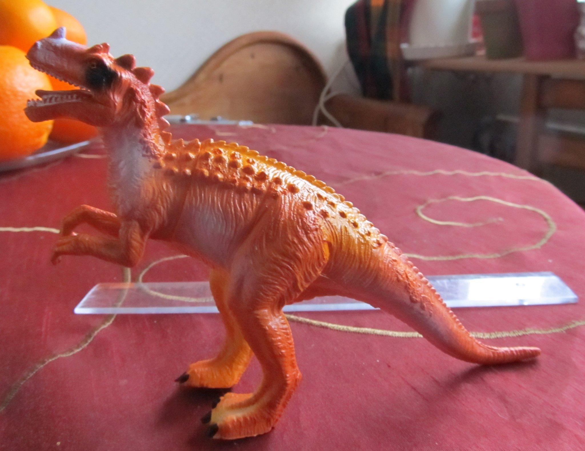 Dinosaur Av Mjuk Plast 10 X 18 Cm Omedelbart 349319732 ᐈ Köp