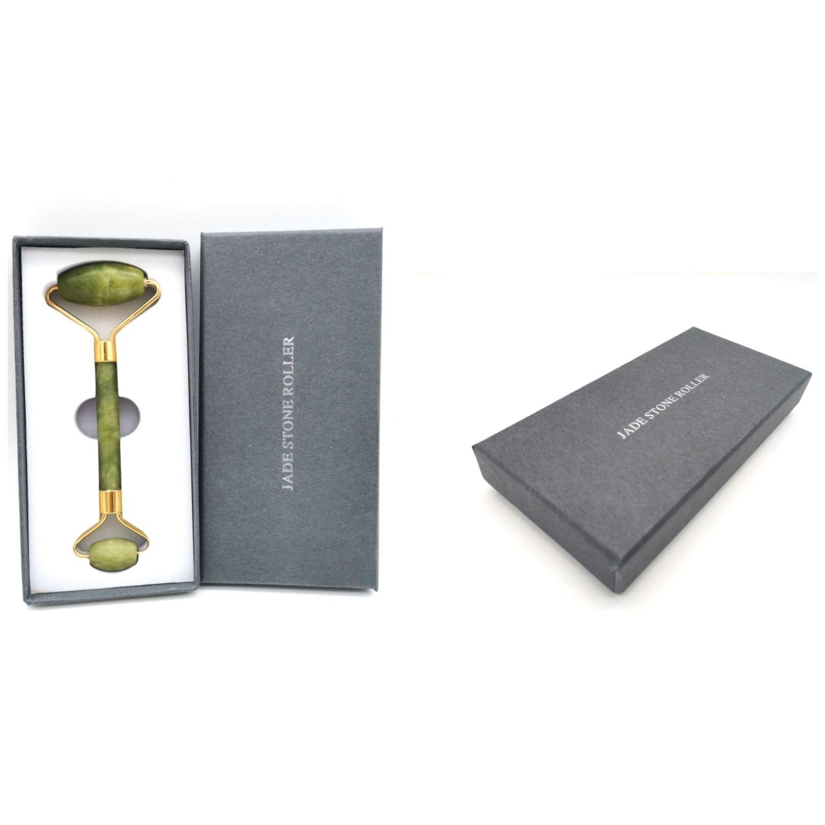 Jade Roller Grön i present ask