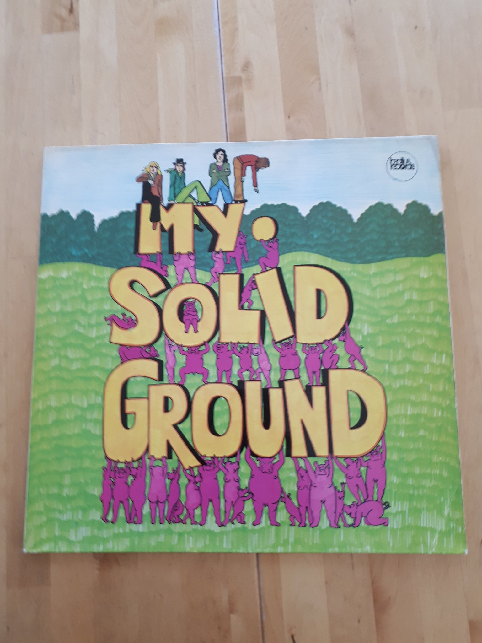 MY SOLID GROUND (orig bacillus records)