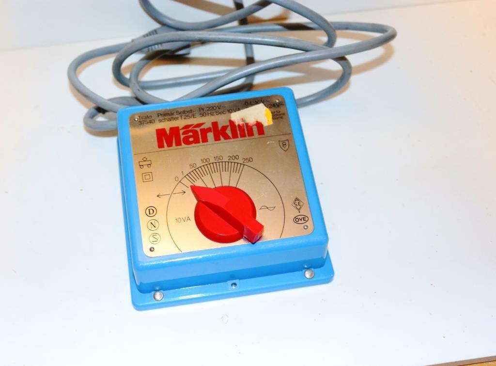Märklin HO transformator / trafo 10 VA nr 37540 (407807280 ...