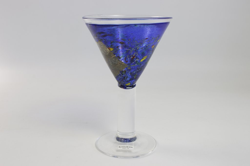 Kosta Boda Bertil Vallien Cocktailglas Artist Collection