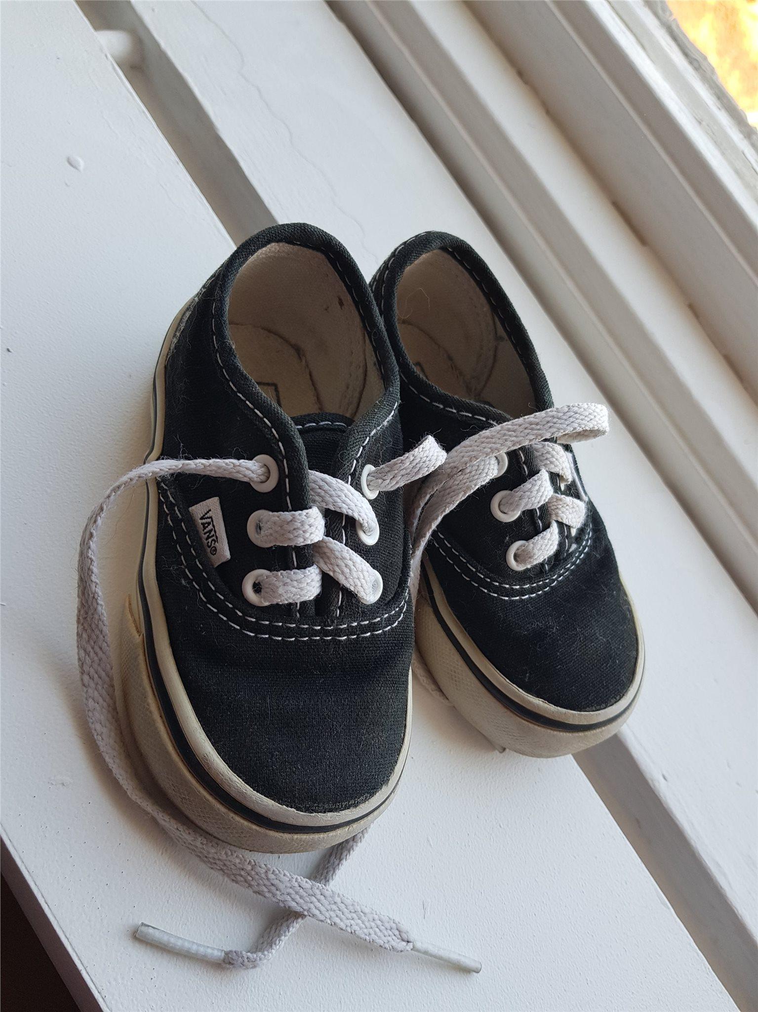 vans skor storlek