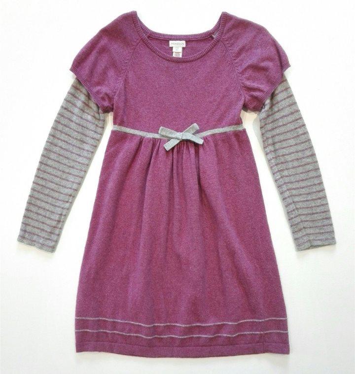 Fin mjuk klänning. Strl 8-10 år. (319093038) ᐈ Köp på Tradera 94c39acc330e3