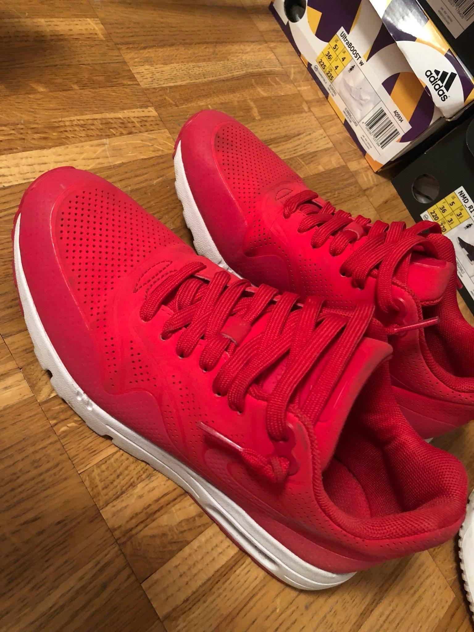 online retailer 10f14 67adb ... Skor Herr Butik SE930338  info for 82719 5d95b Nike air max röda