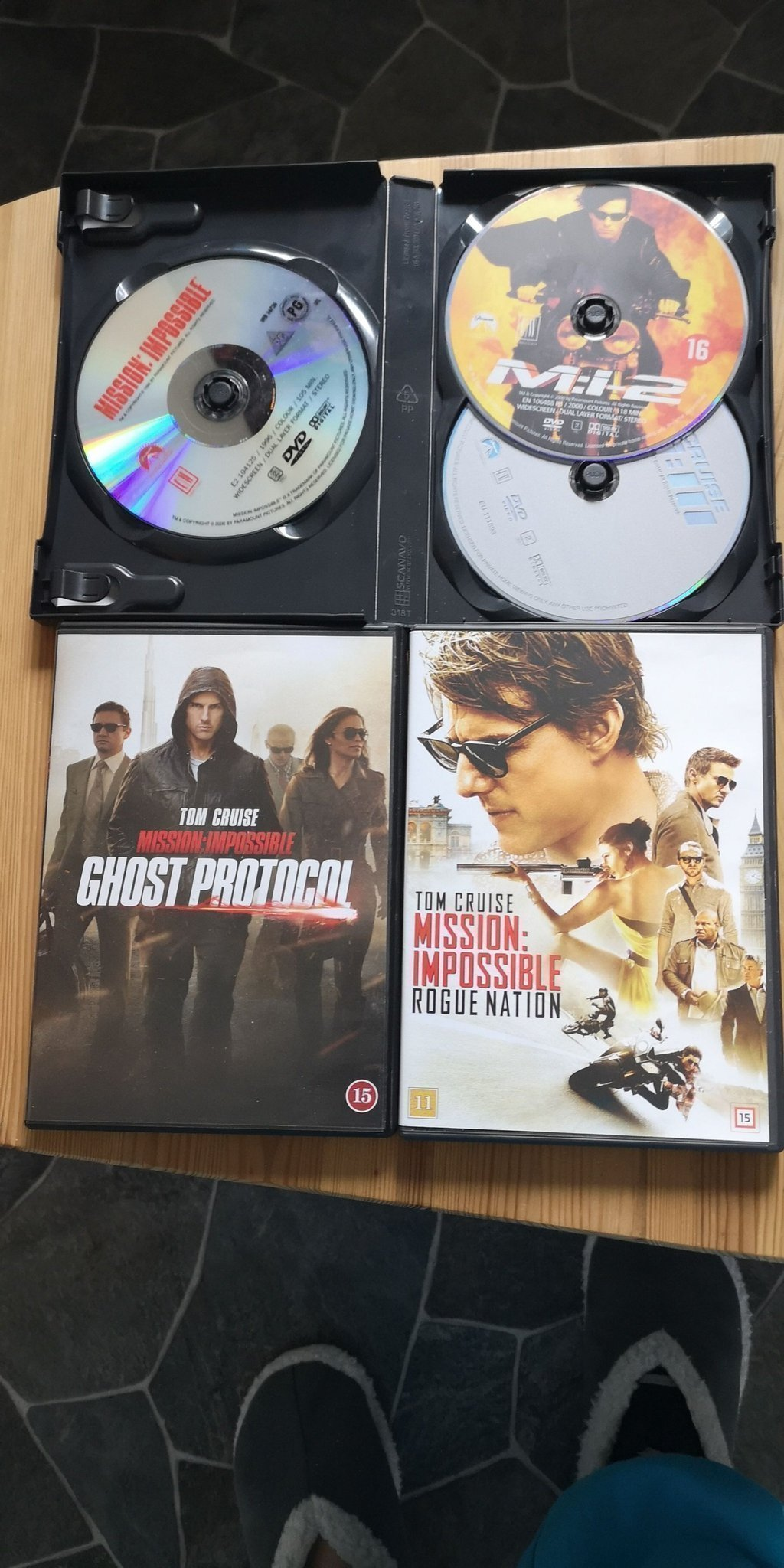 "DVD-filmer ""Mission Impossible"""
