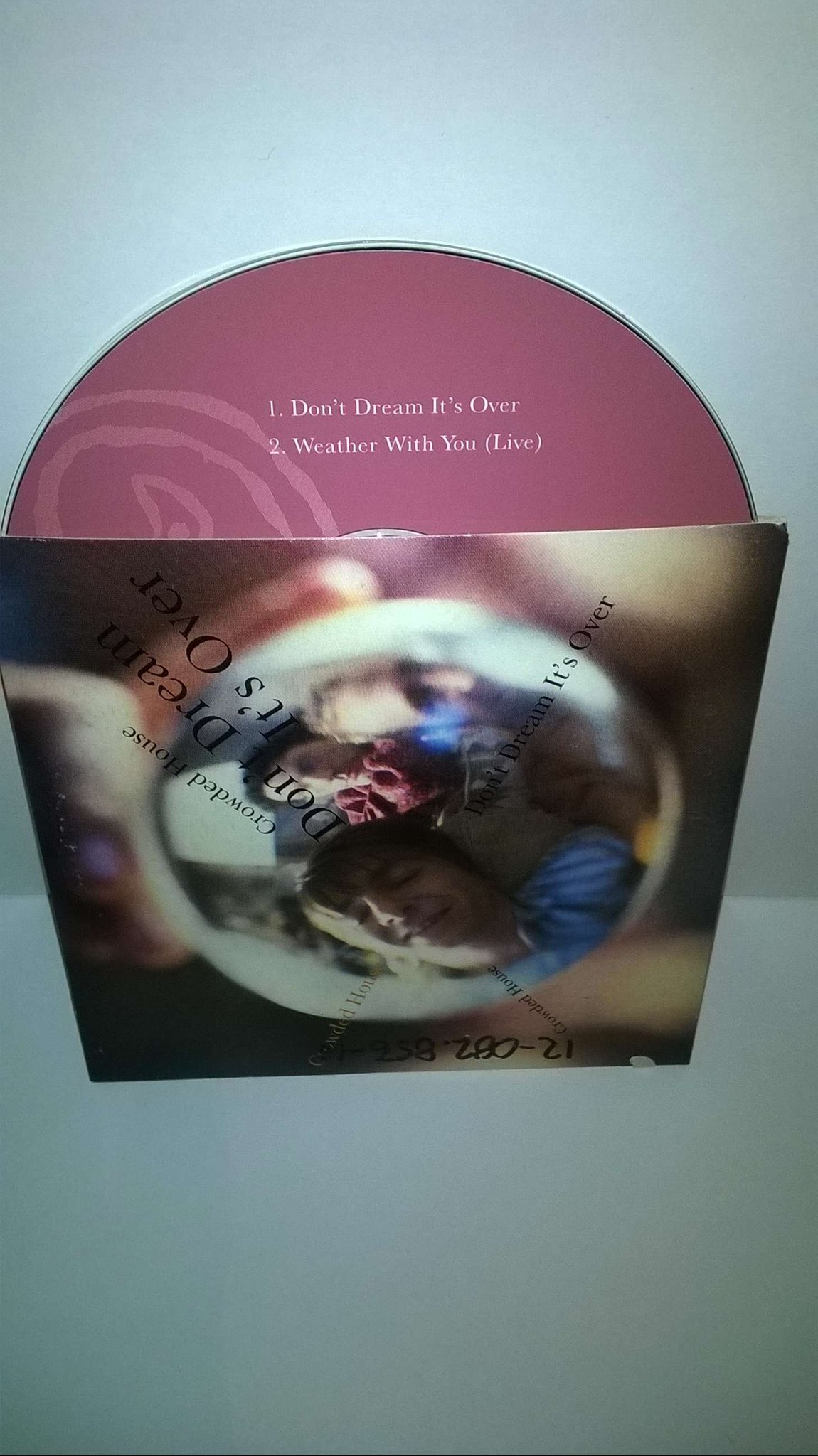 Crowded House - Don't Dream It's Over, single CD
