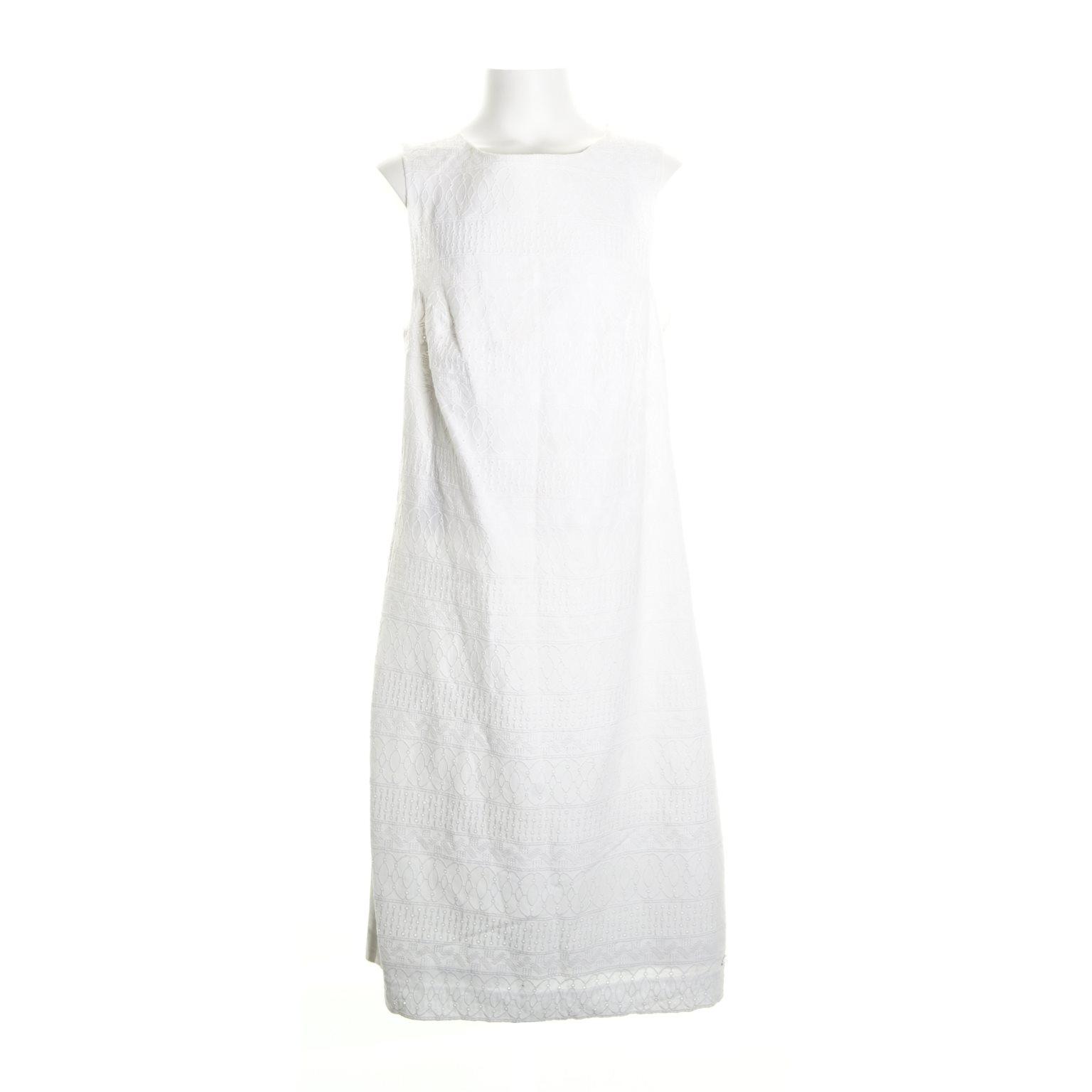 tommy hilfiger vit klänning
