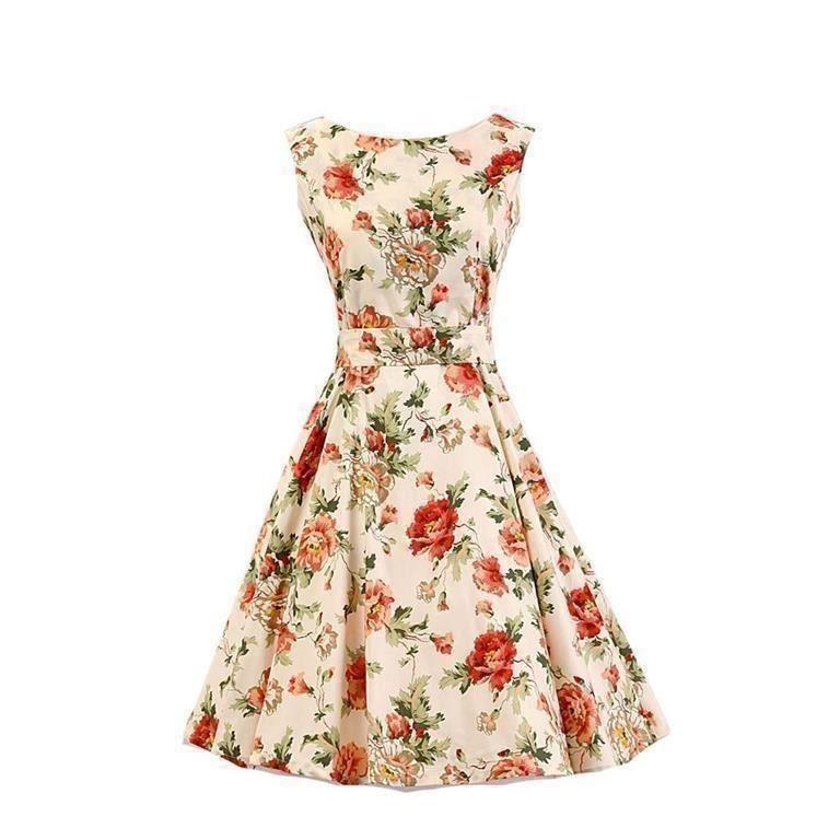 Pinup klänning