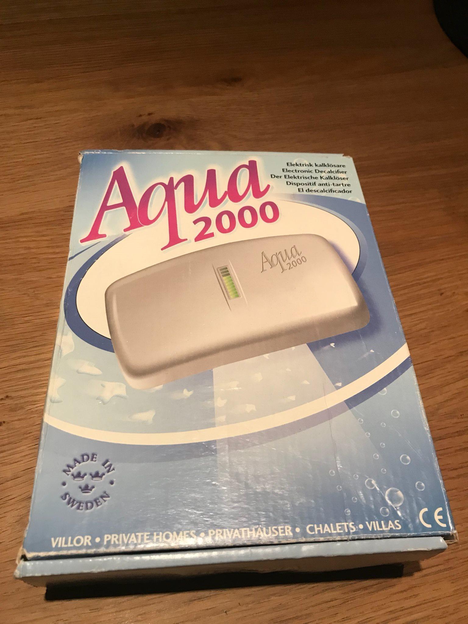 aqua 2000 elektrisk kalklösare
