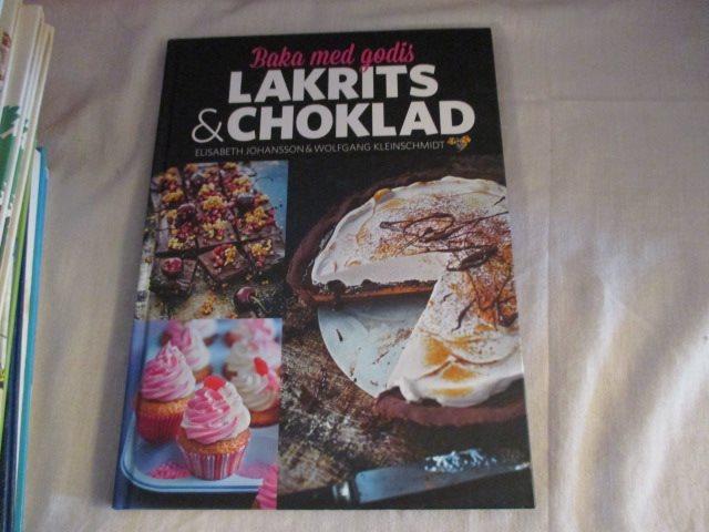 baka med godis lakrits och choklad