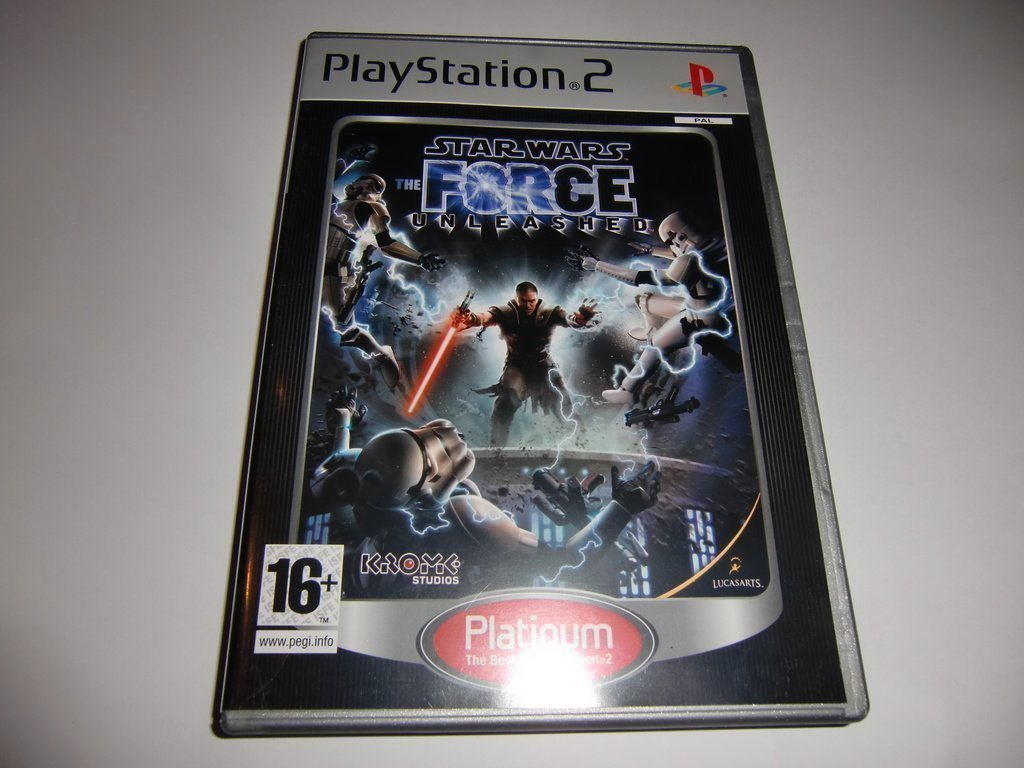 Star Wars The force Unleashed  - PS2 spel