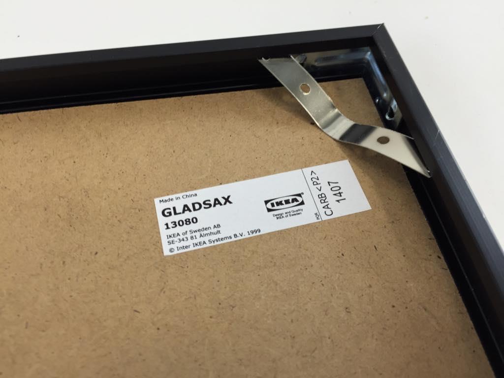 Ikea Ram Svart Skick Normalt Gladsax F R Lp Skivor