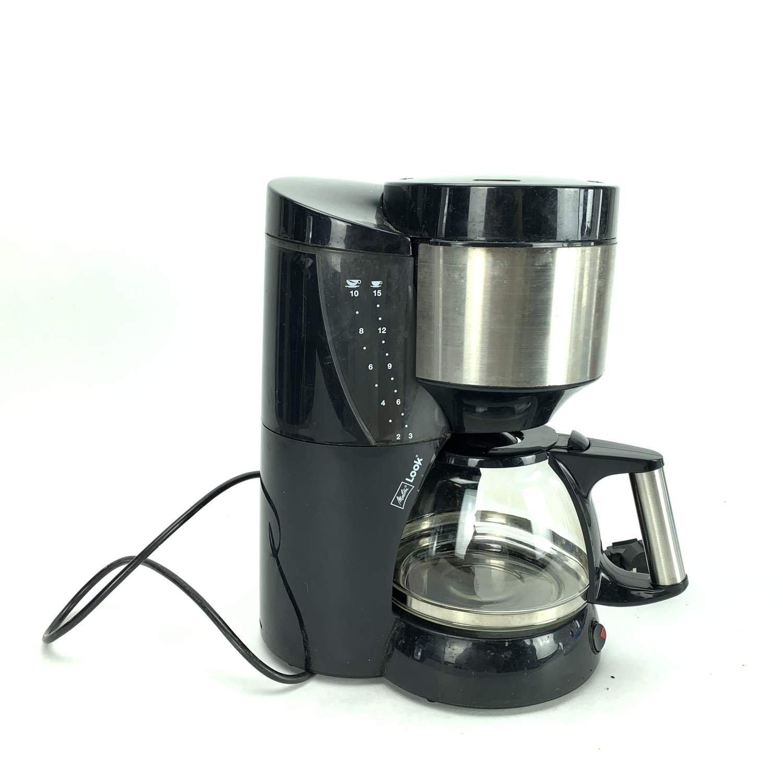 Kaffebryggare, Look Melitta, Svart