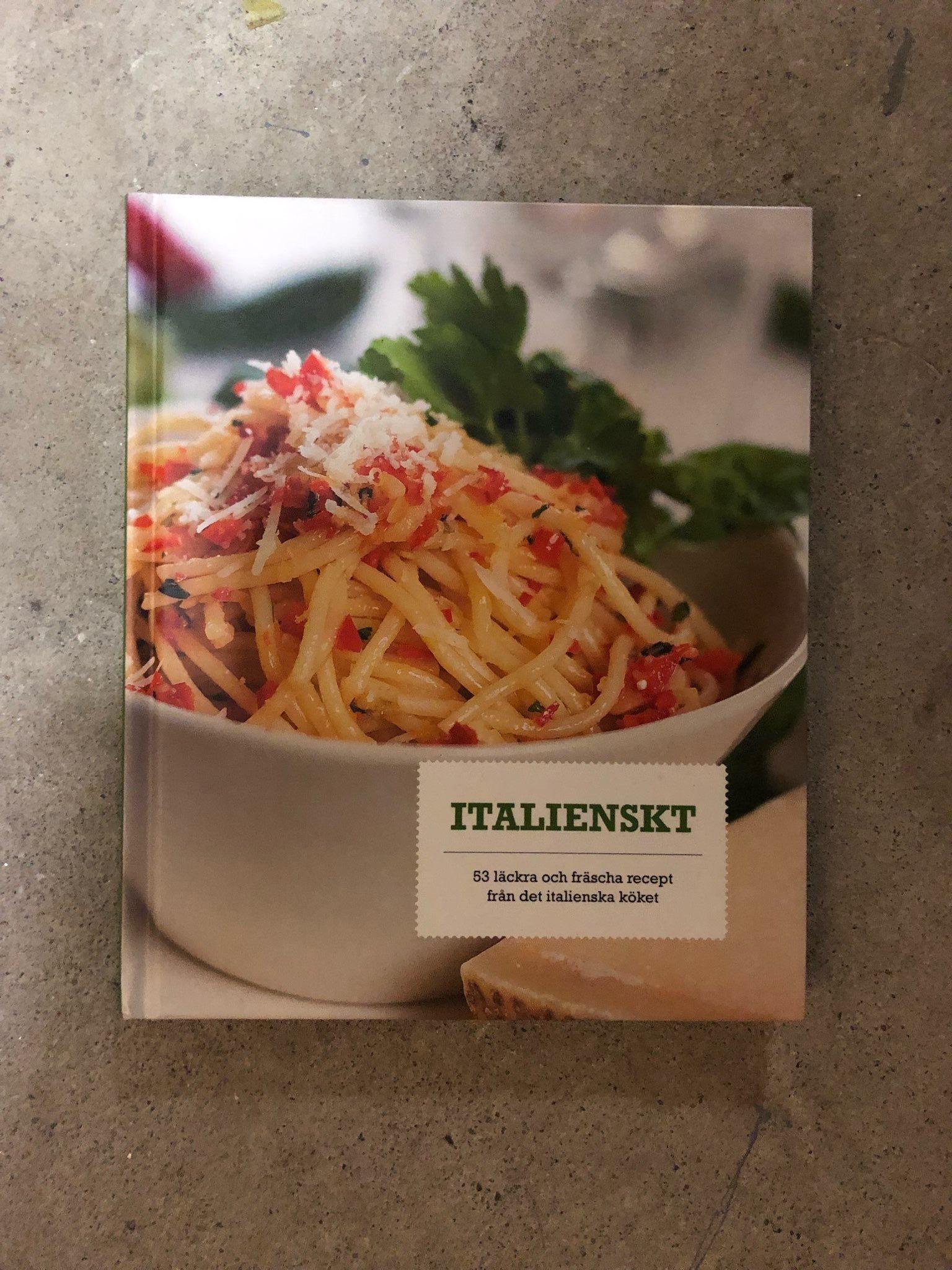 äkta italiensk spagetti carbonara