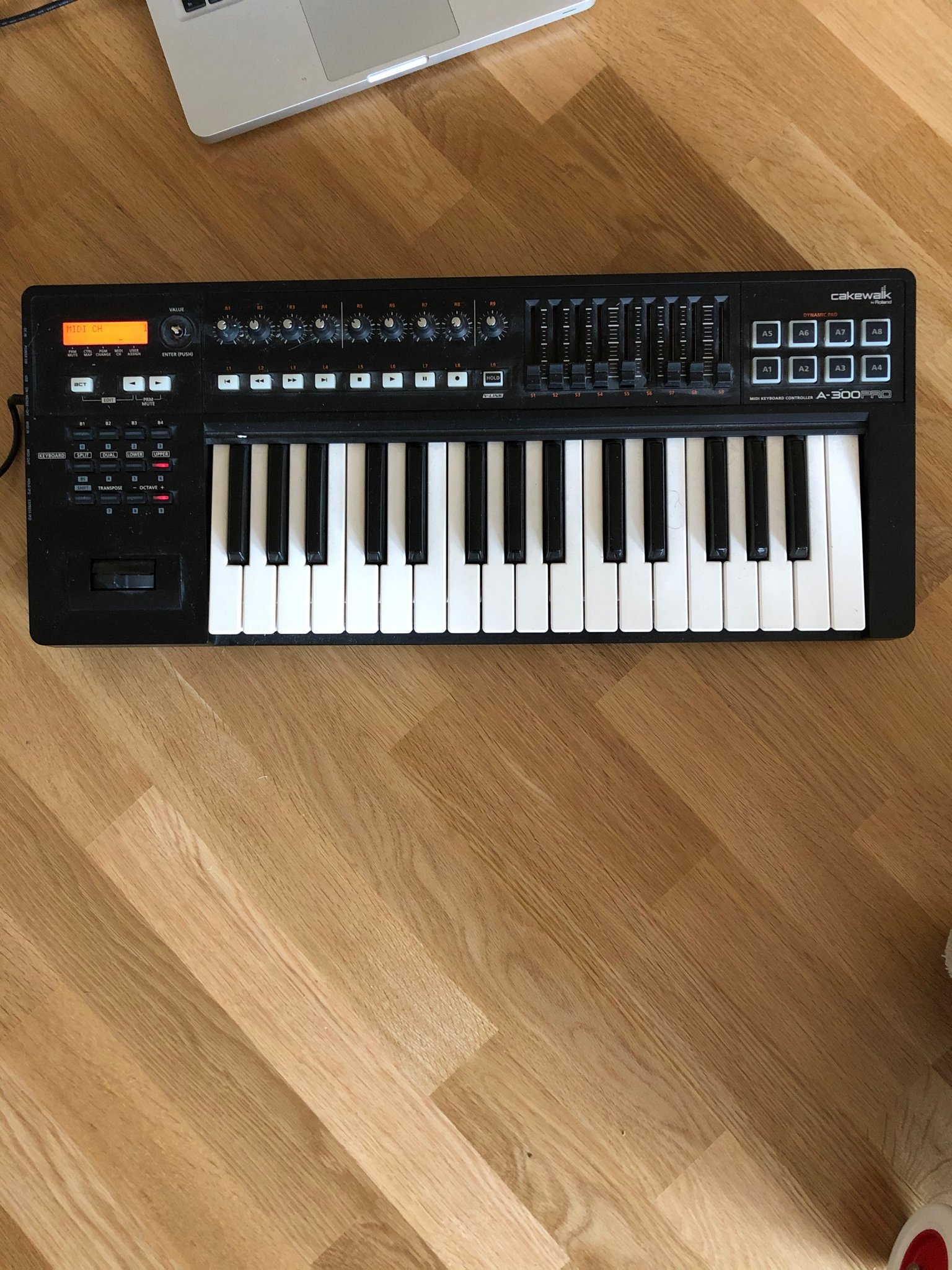 Roland A-300 PRO Cakewalk MIDI-synth