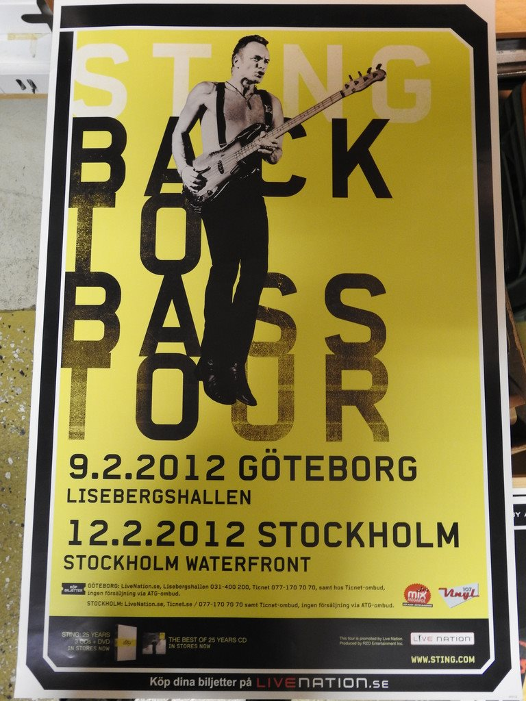 Sting pa stockholm waterfront