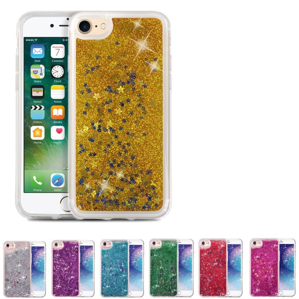 iPhone 6 6s - Glitter rörelse skal (Guld) (308026772) ᐈ AlboeBox på ... 00b567284e900