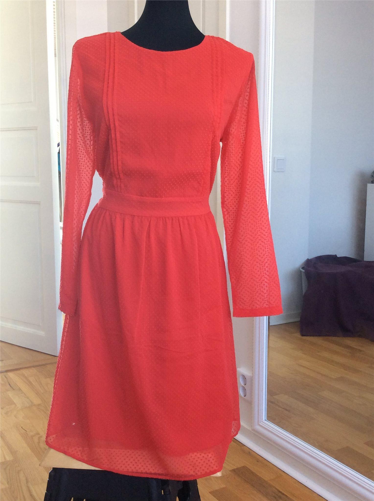 aaf61bd4a5e3 Röd klänning fest