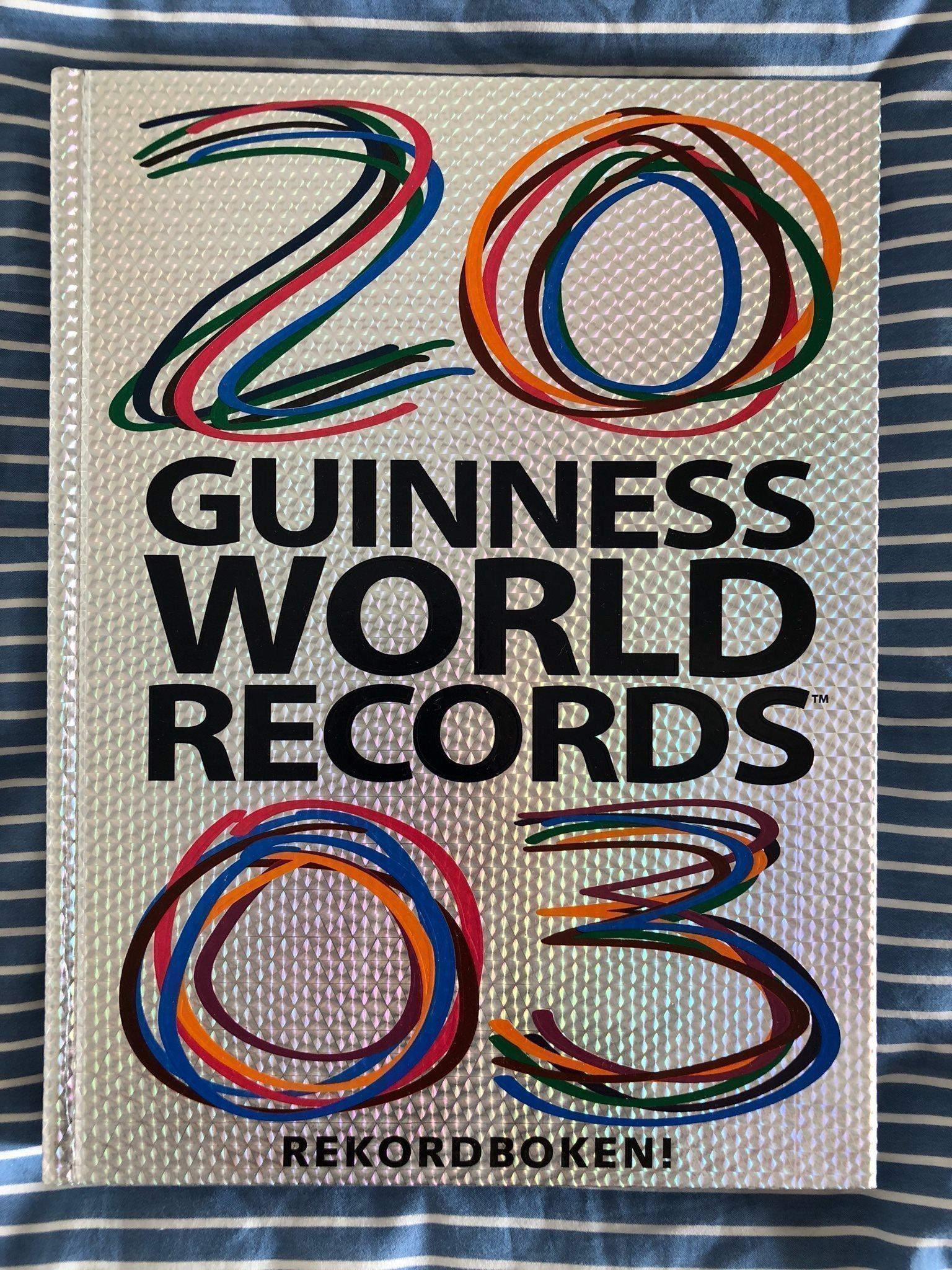 guinness rekordbok sverige