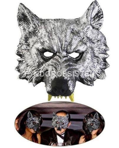 Varg huvud mask maskerad fest par.. (320064708) ᐈ FyndGrossisten på ... d1733a41d9227