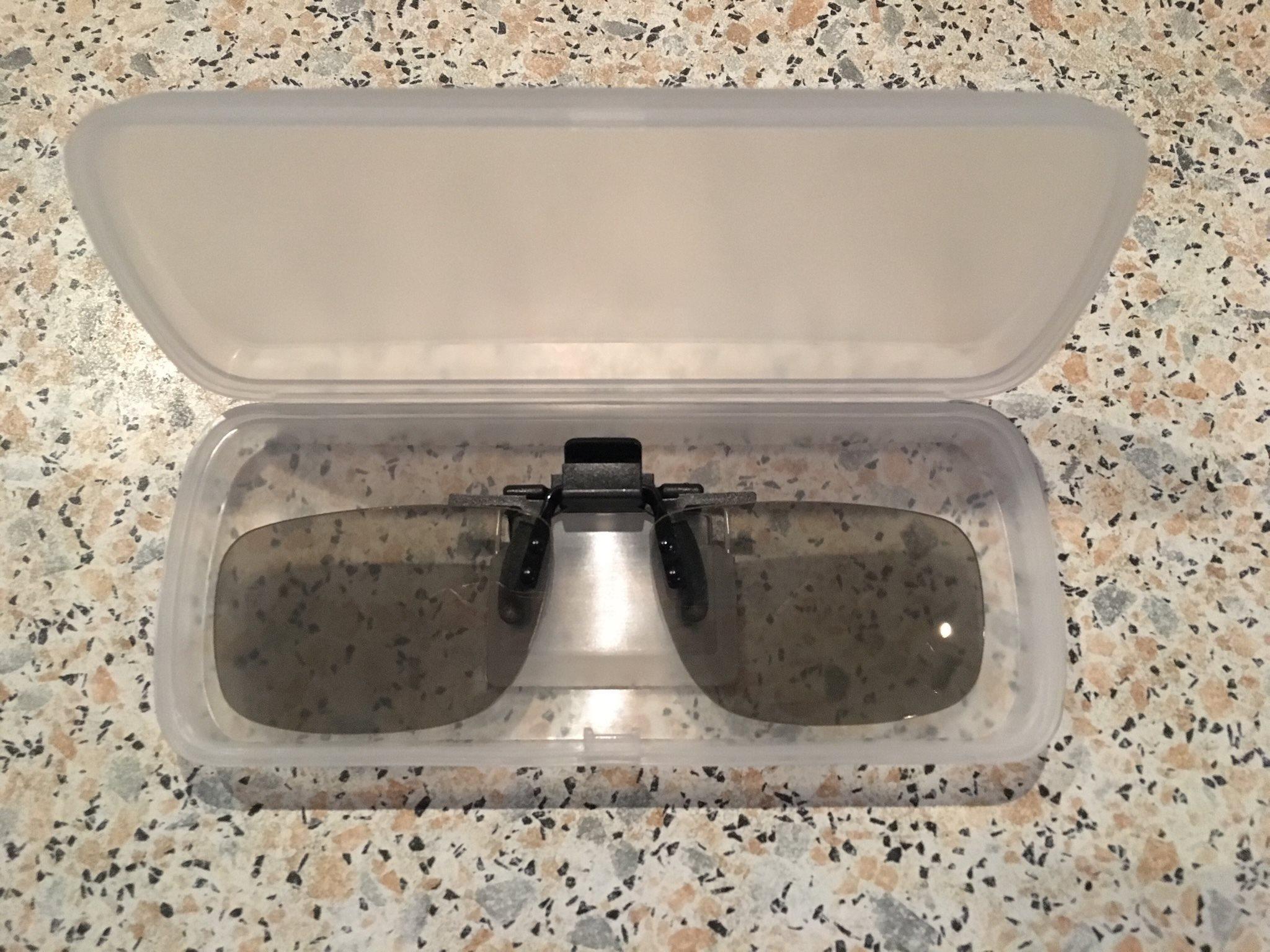 Clip-on passiva polariserade 3D glasögon bio (340815444) ᐈ Köp på ... 5634b567755cb