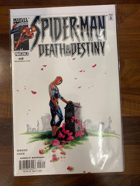 Spider-Man Death and Destiny (2000) #2 VF