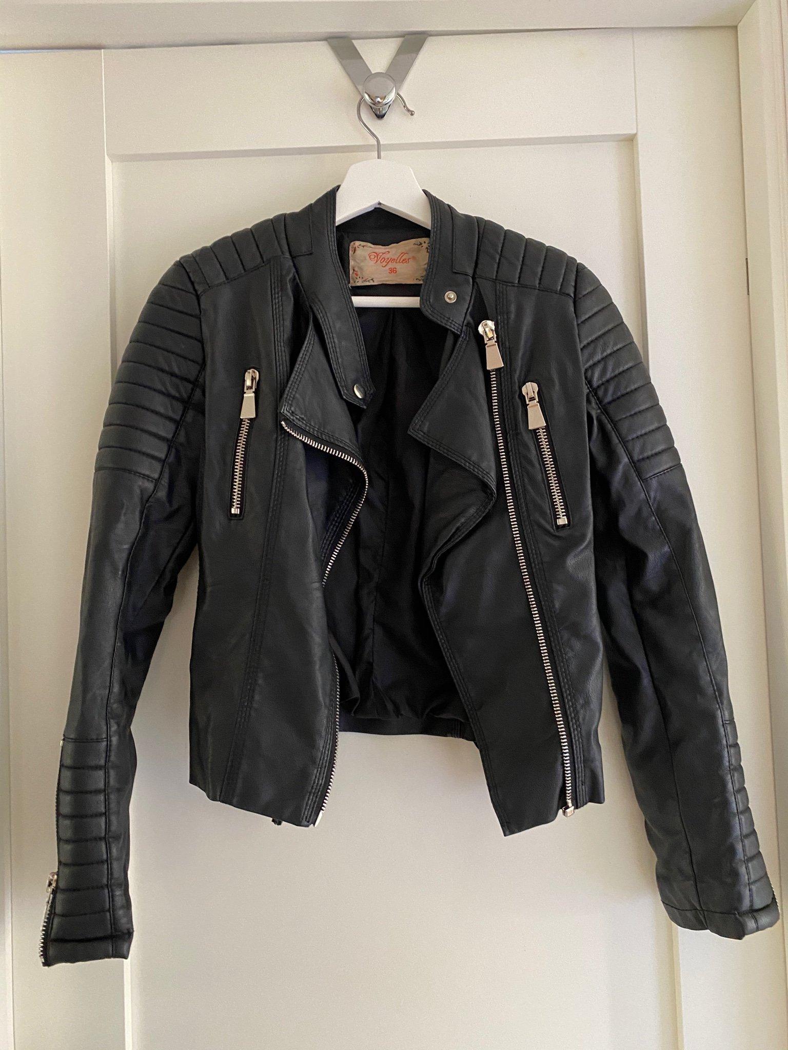 Chiquelle Moto Jacket storlek 36 skinnjacka