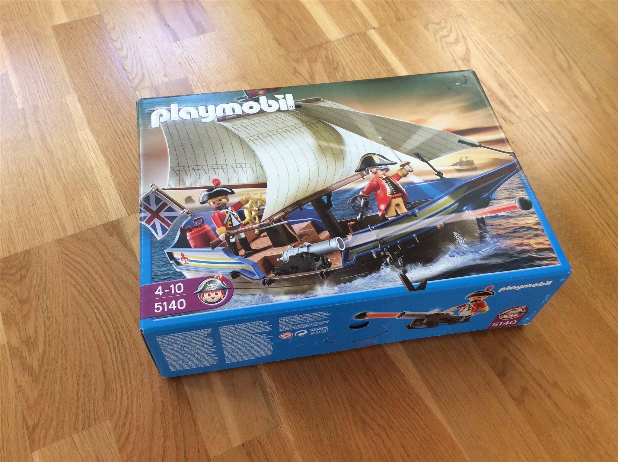 Örlogsfartyg playmobil