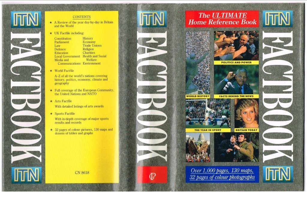 ITN FACT BOOK The Ultimate Home Reference Book (1990)