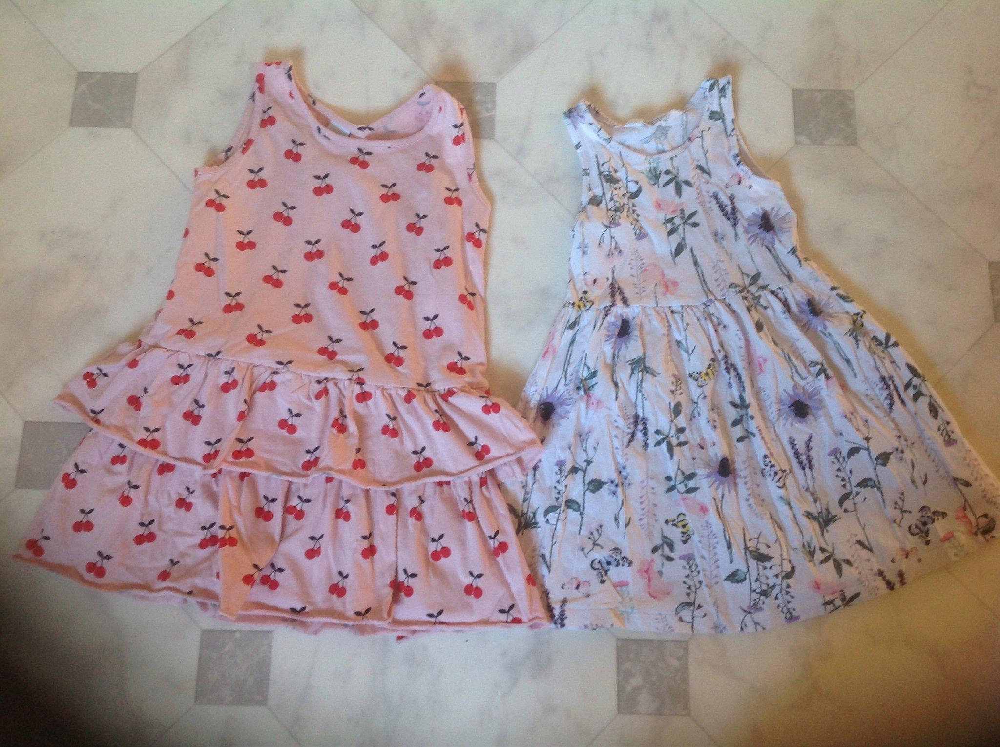 53ac6b4e94d7 H&M och Lindex klänning, med fint mönster storl.. (348429656) ᐈ Köp ...