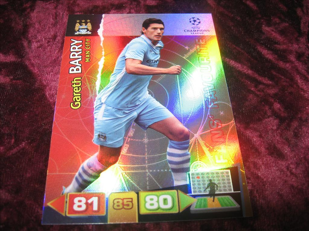GARETH BARRY-MANCHESTER CITY-FANS FAVOURITE-UEFA CHAMPIONS LEAGUE 2011/2012