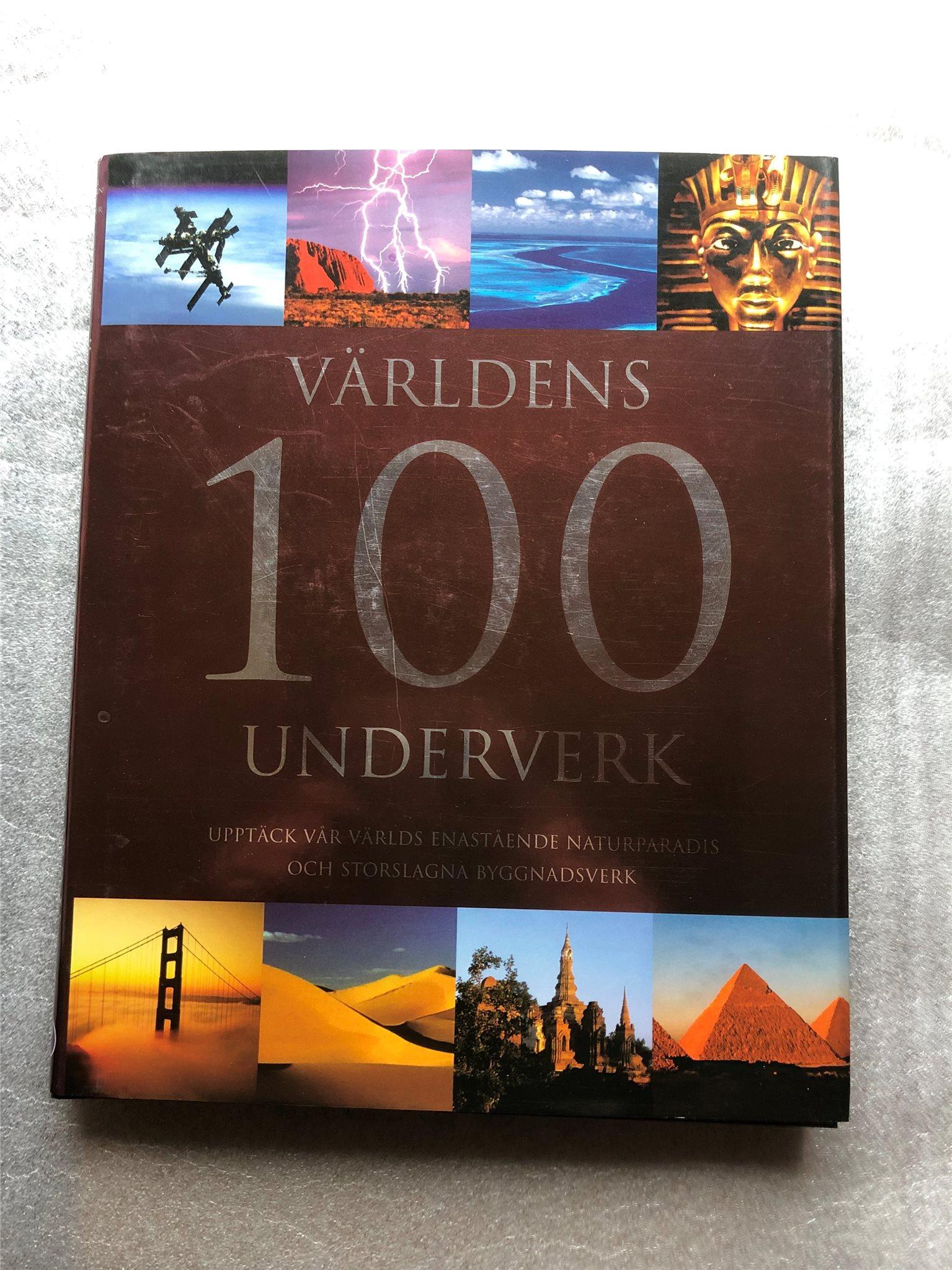 Världens 100 underverk , ISBN 978-1-4054-9905-7