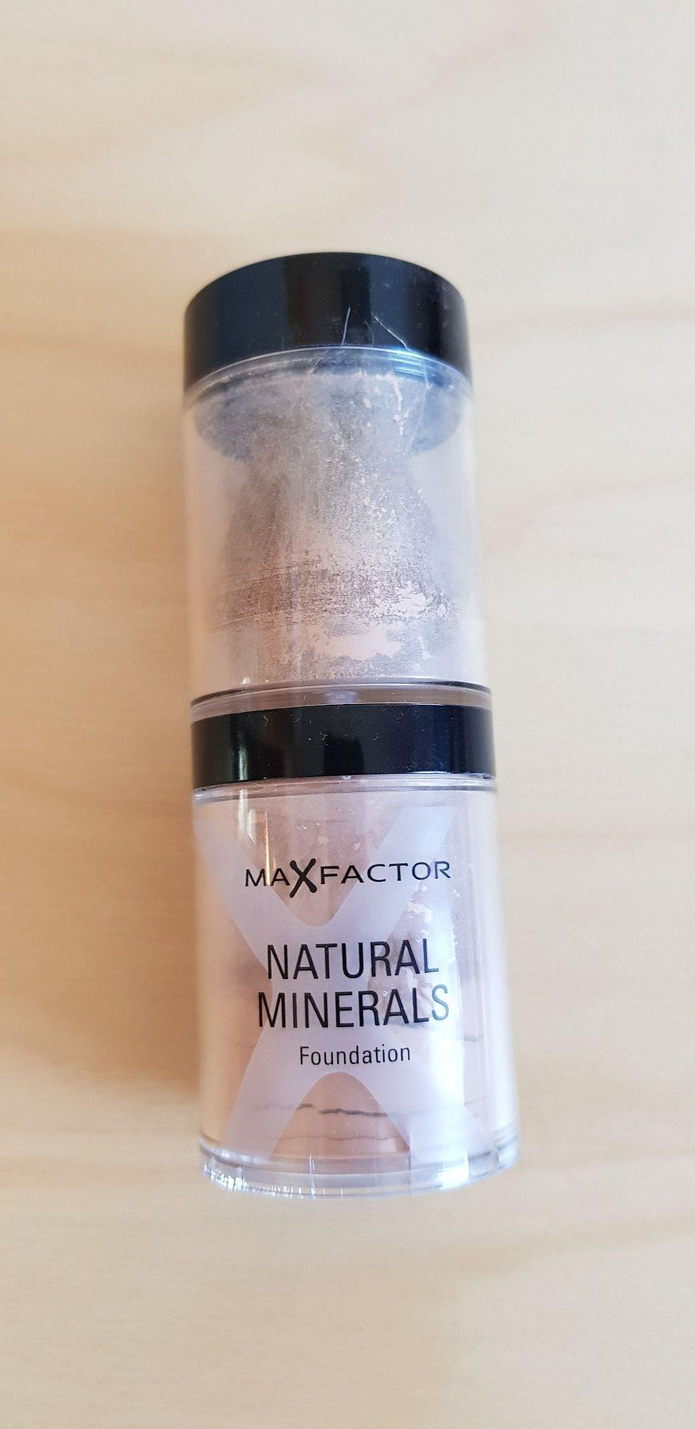 max factor mineralpuder