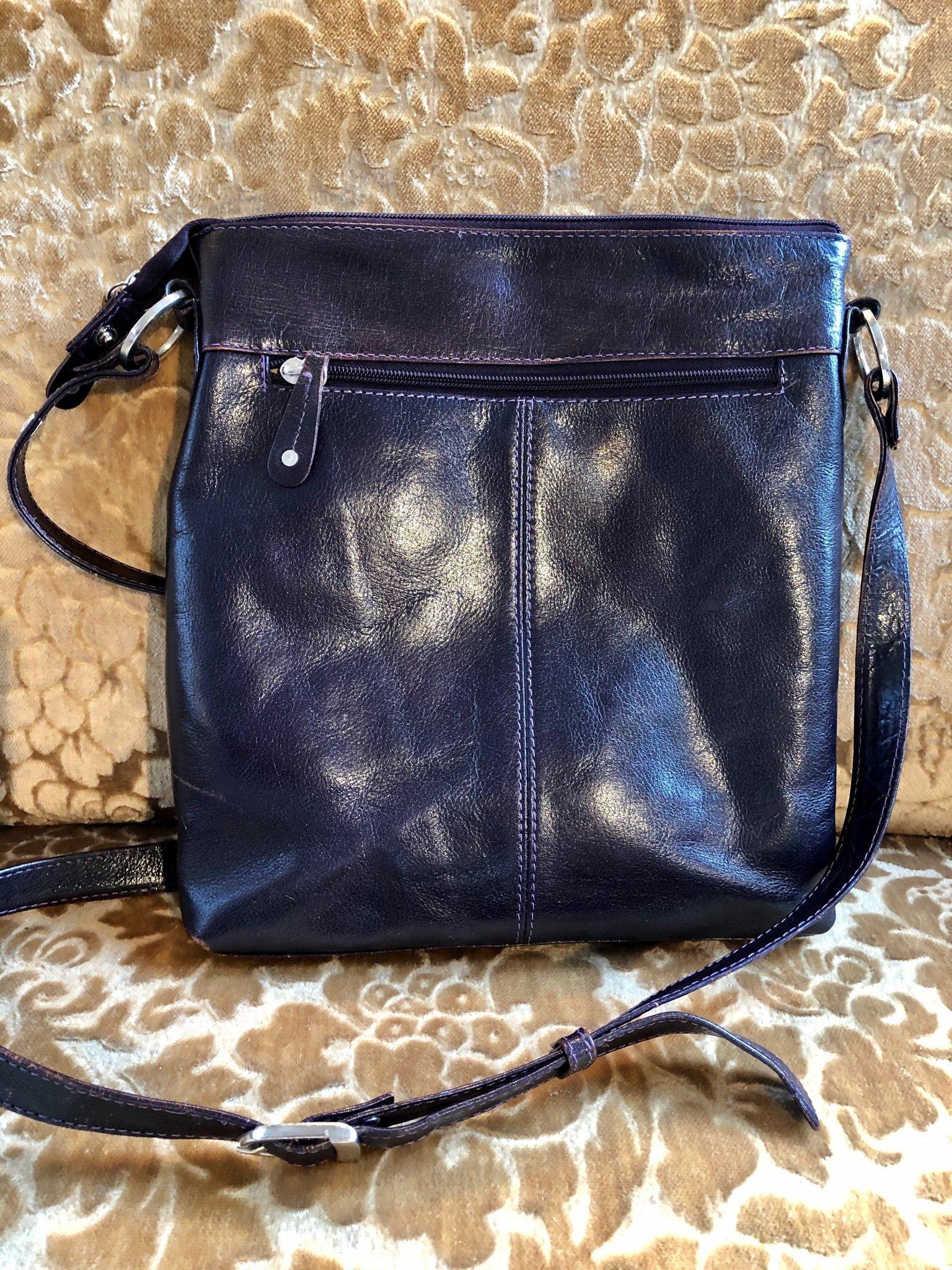 Väska skinn läder The Monte superfin