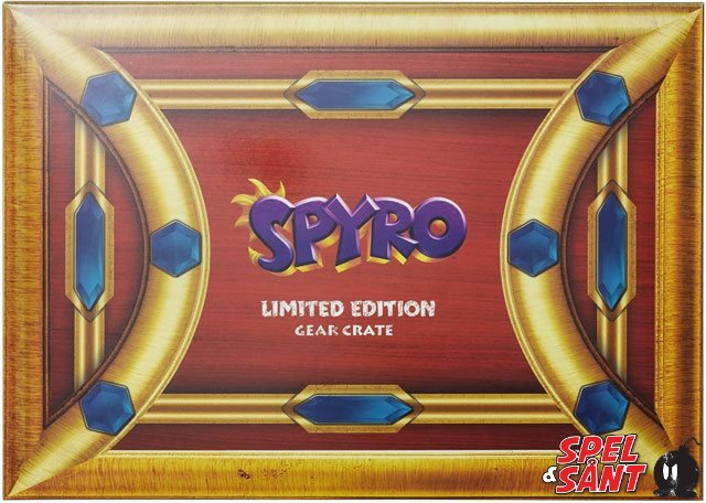 Big Box Spyro The Dragon Crate